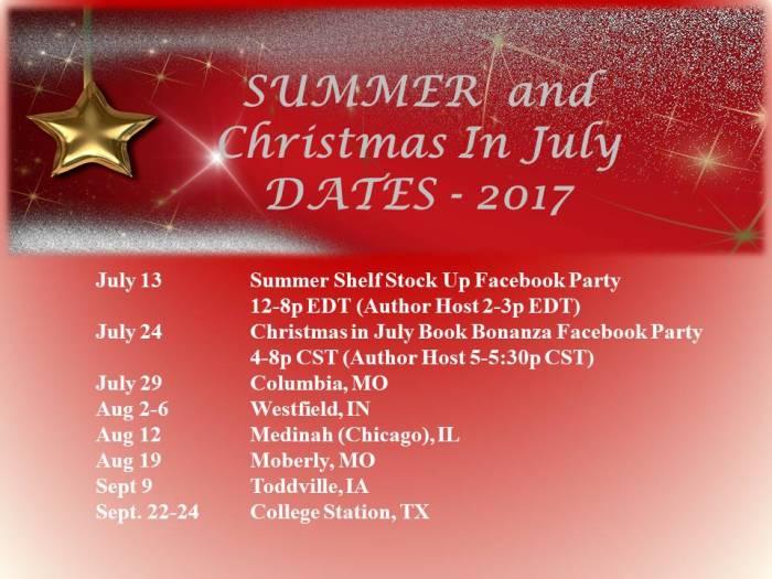 2017 Travel Dates 2