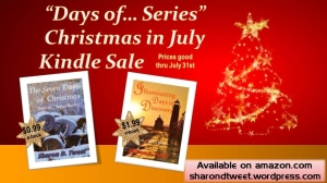 Christmas in July kindle sale