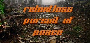 relentless pursuit of peace